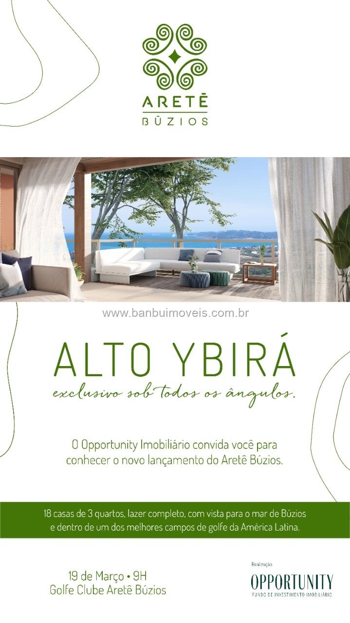 Lançamento – Condomínio Alto do Ybira – Golfe Búzios