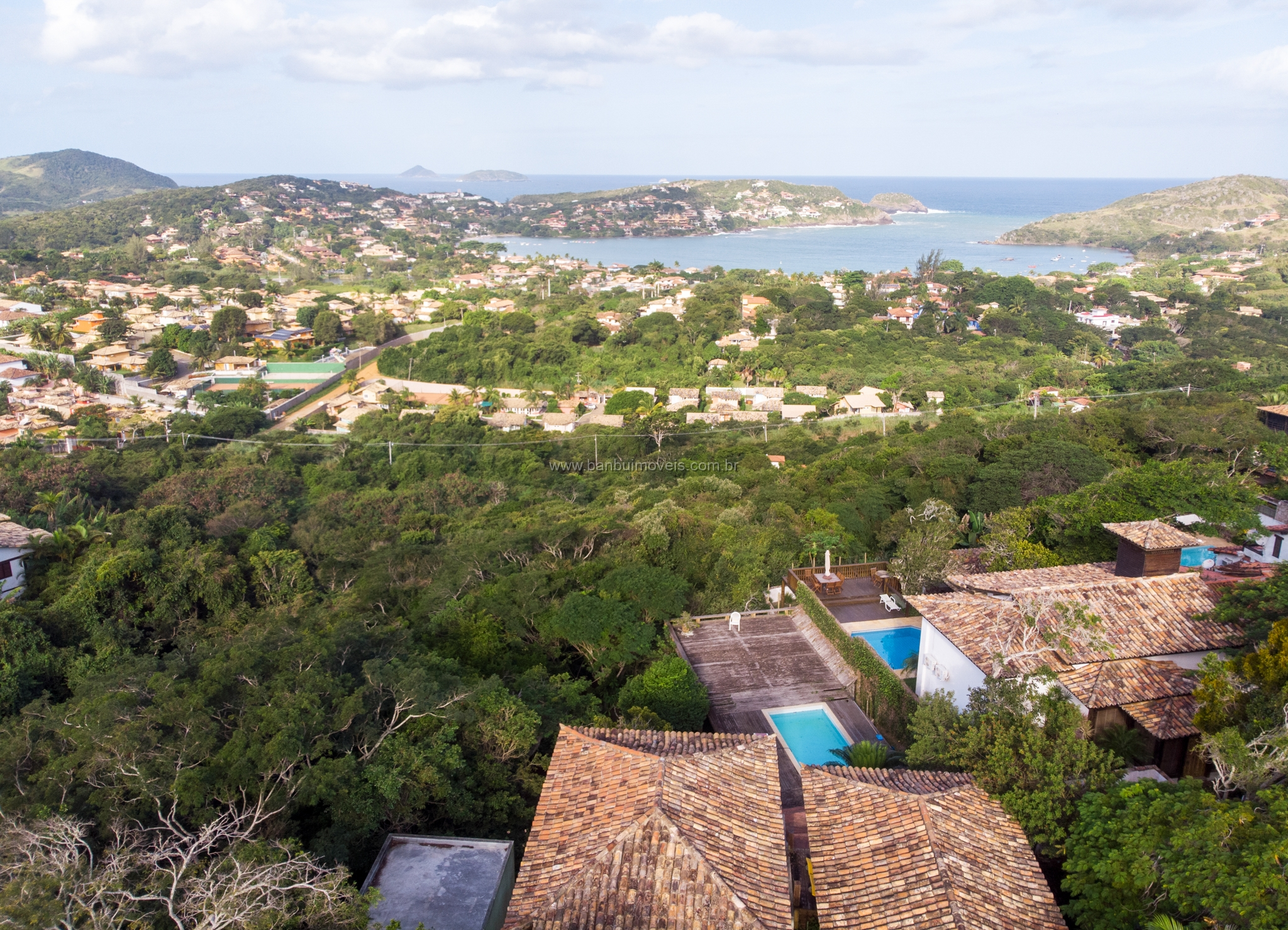 Alto de Búzios- Vista mar/Ferradura